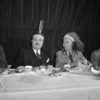 President Wells at Pow Wow Dinner