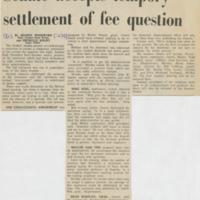 """Senate Accepts Temporary Settlement"""