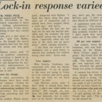 """""""Lock-in Response Varied"""""""