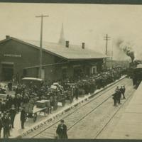 Monan Railroad Station