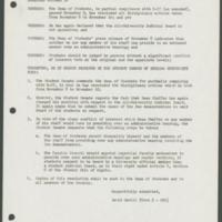 Student Senate Resolution R-34