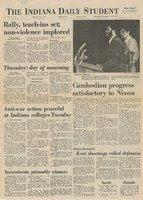 Indiana Daily Student, May 6, 1970, page 1