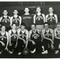 Richard Lugar on the University of Oxford Basketball Team