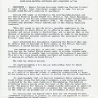 Lugar-Dole-Mathias-Kassebaum Anti-Apartheid Action