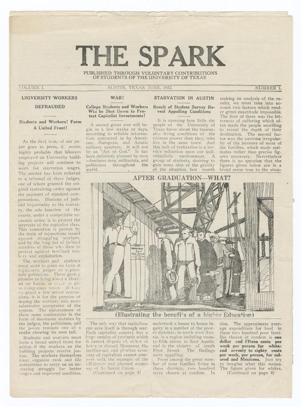 The Spark Vol. 1, No. 1