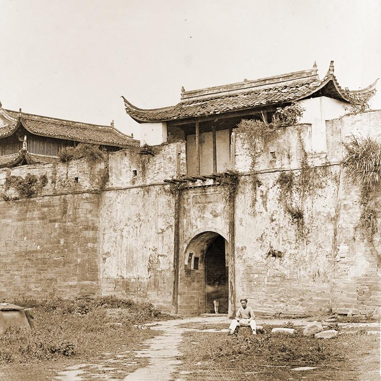 Yín ts'ōng Mĕng (和义门, Salt Gate or Heyi Gate), Ningpo