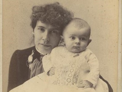 Seabrook Mitchell Wylie and Her Infant Child