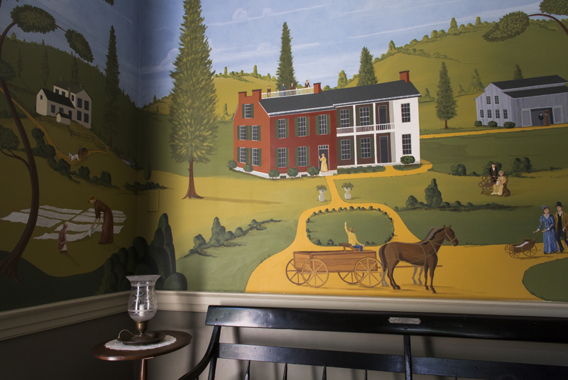 Wylie House Entry Hall Mural