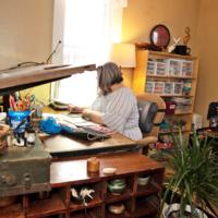 Katrina Mitten Studio Visit