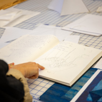Carissa Carman Studio Visit