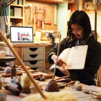 Linda Tien Studio Visit