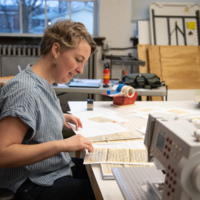 Molly Evans Studio Visit
