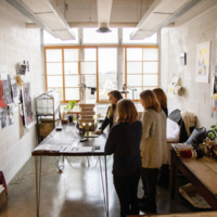 Sarah Edmands Martin Studio Visit