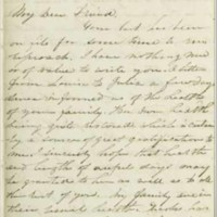Letter from Robert Hamill to T. A. Wylie