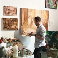 Nathan Foxton Studio Visit