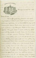 T. A. Wylie Letter to Richard Wylie