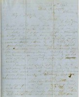 W. S. Stormont Letter to T. A. Wylie